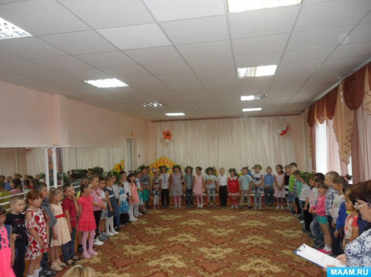 Фотоотчет о проекте «Святая Троица» в детском саду