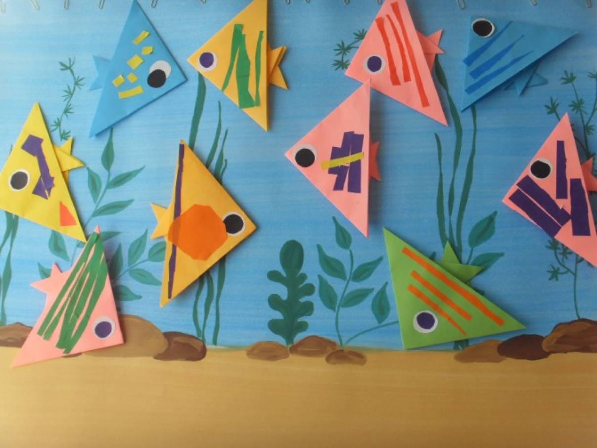 Конспект занятия по конструированию во 2 младшей группе рыбка