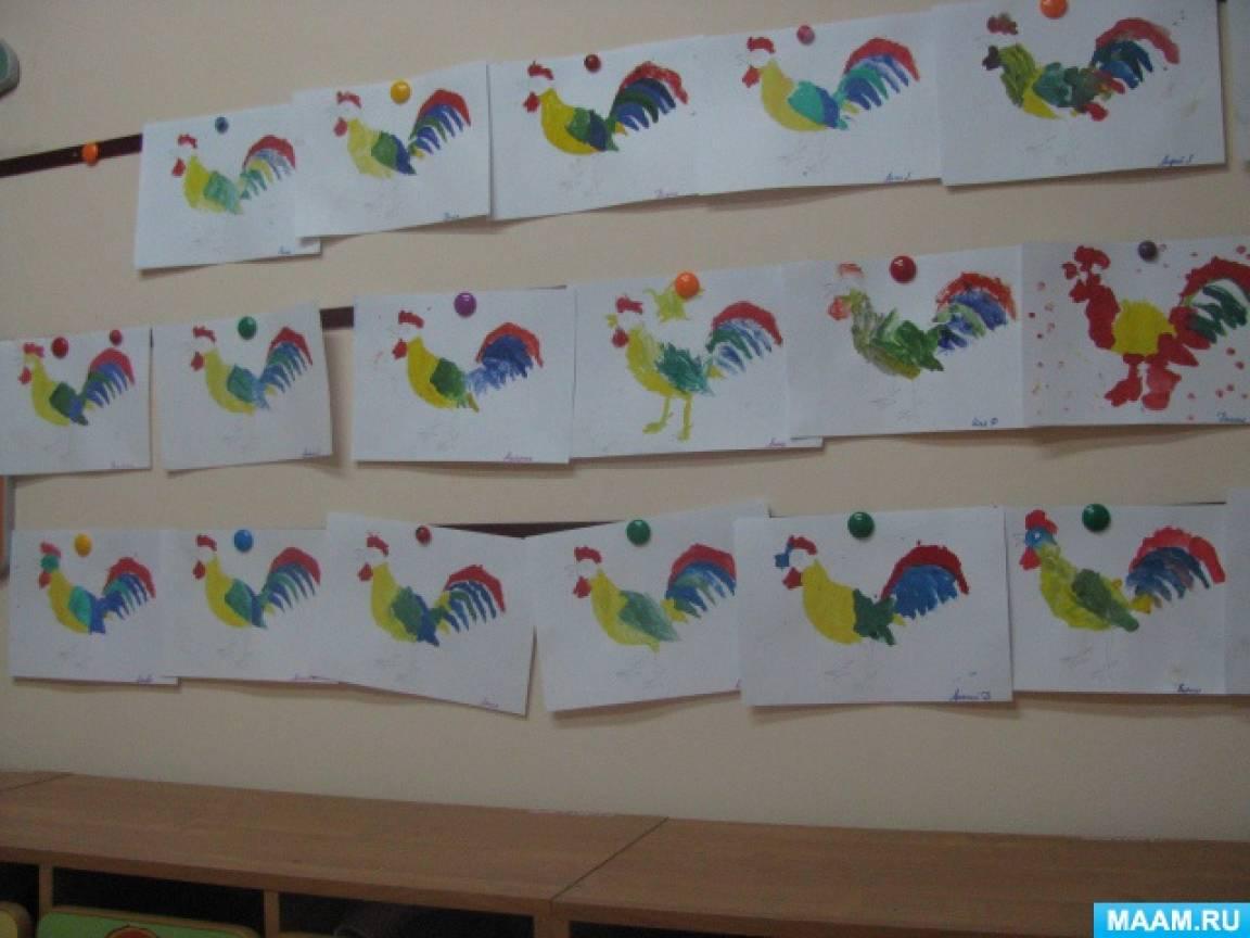 Конспекты рисования в средней группе