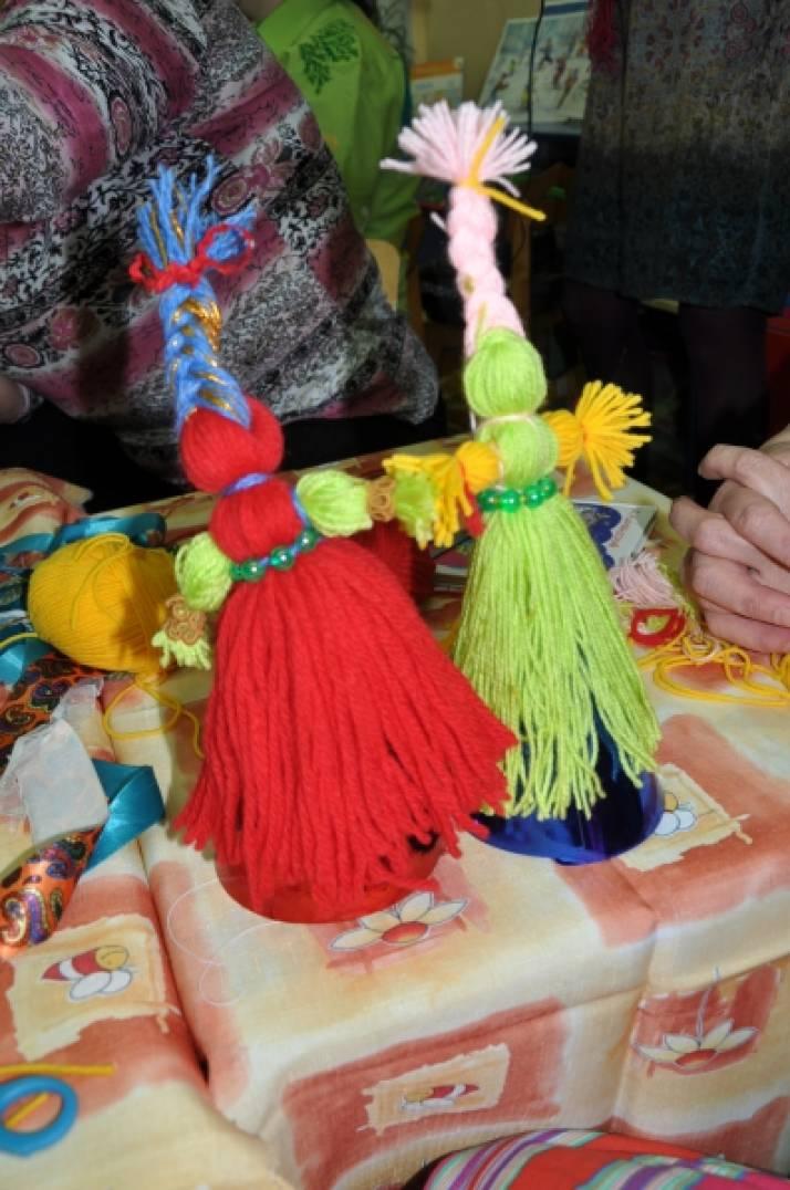 Сценарий мастер-класса на масленицу. Изготовление куклы-веснянки.
