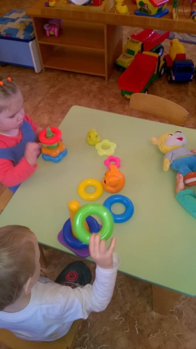 занятие моя любимая игрушка младшая группа