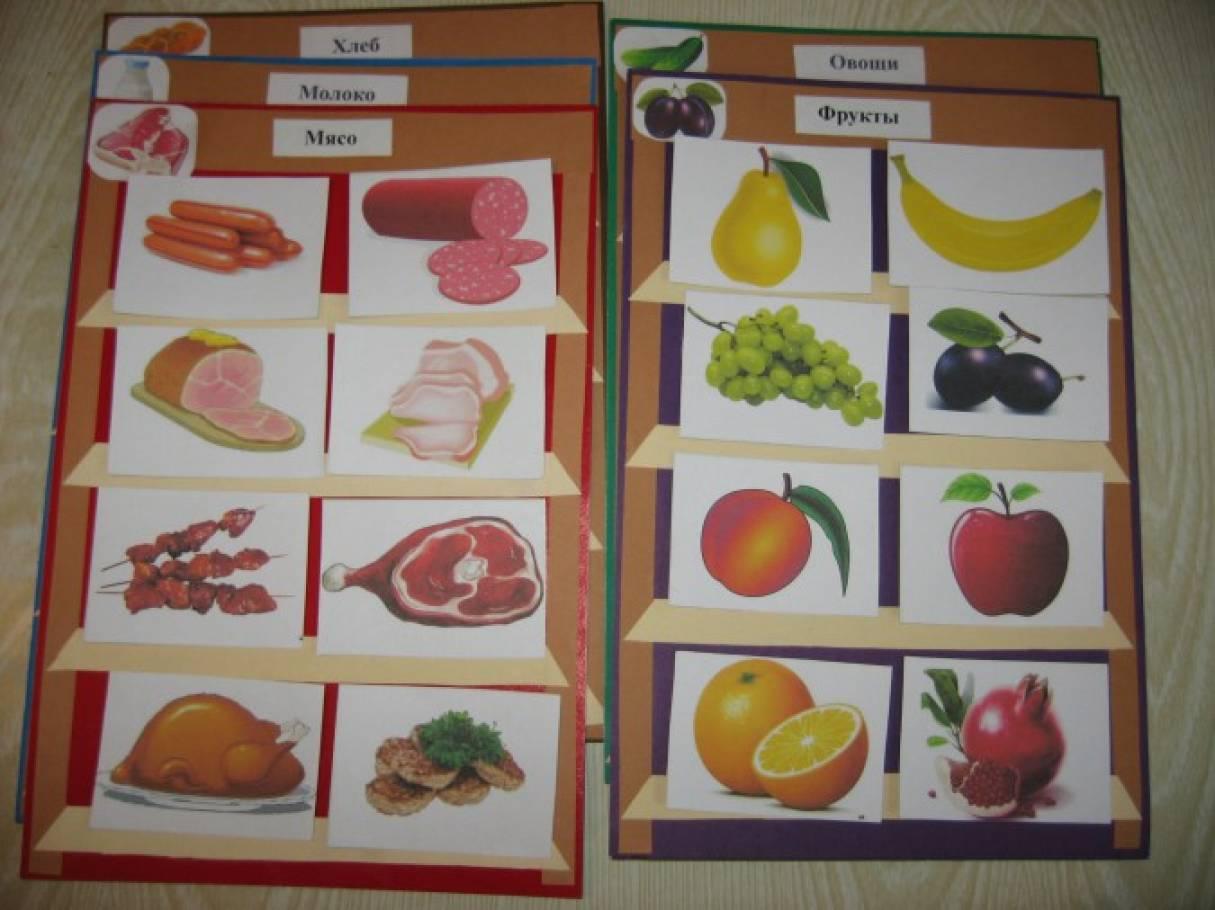 Картинки продуктовый магазин для игр с детьми доу