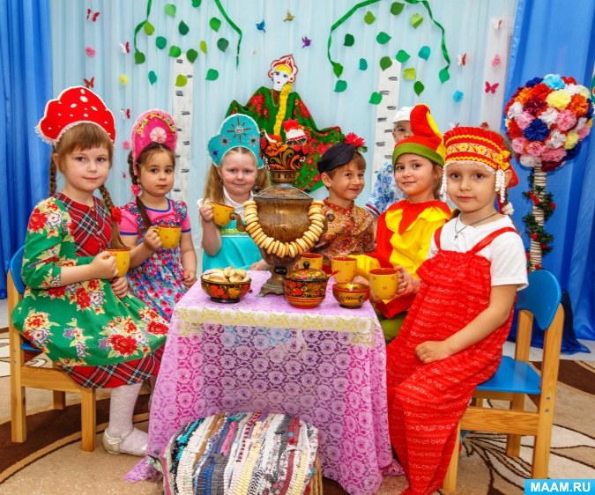 Сценарий детского народного праздника