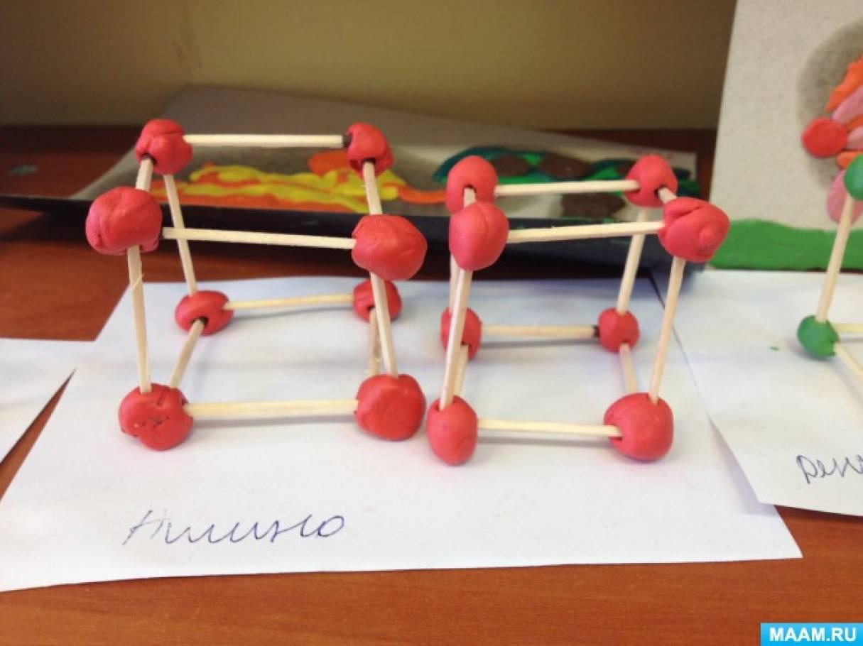 при знакомстве с геометрическими фигурами детей учат