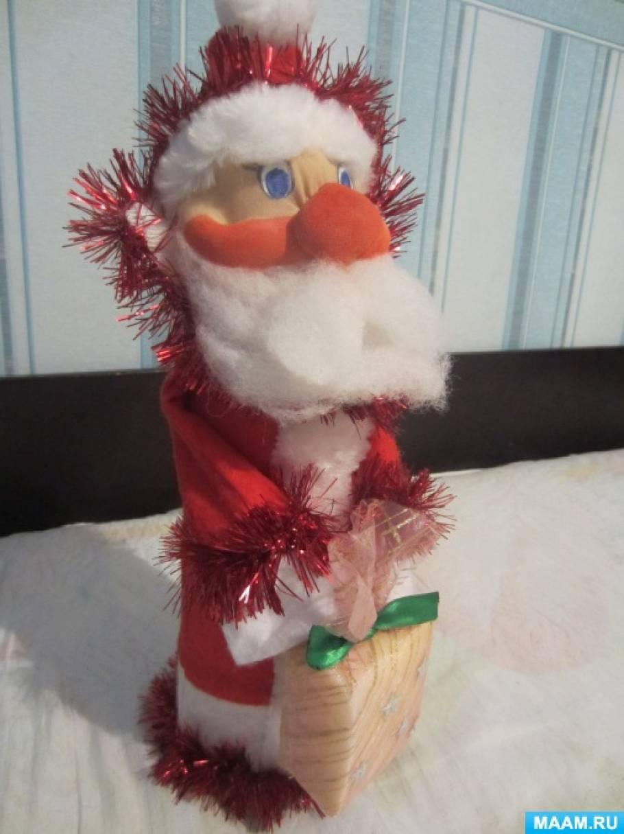 Мастер-класс «Кукла «Дед Мороз» из капрона»