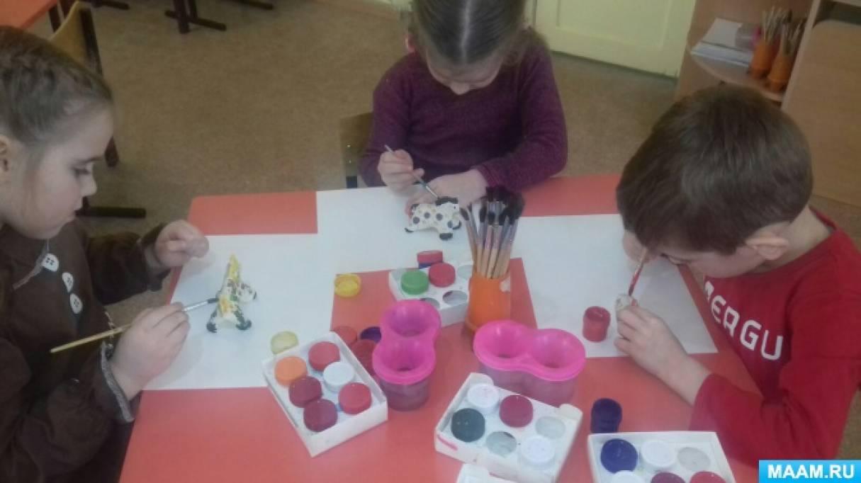 Мастер-класс «Роспись дымковской игрушки»