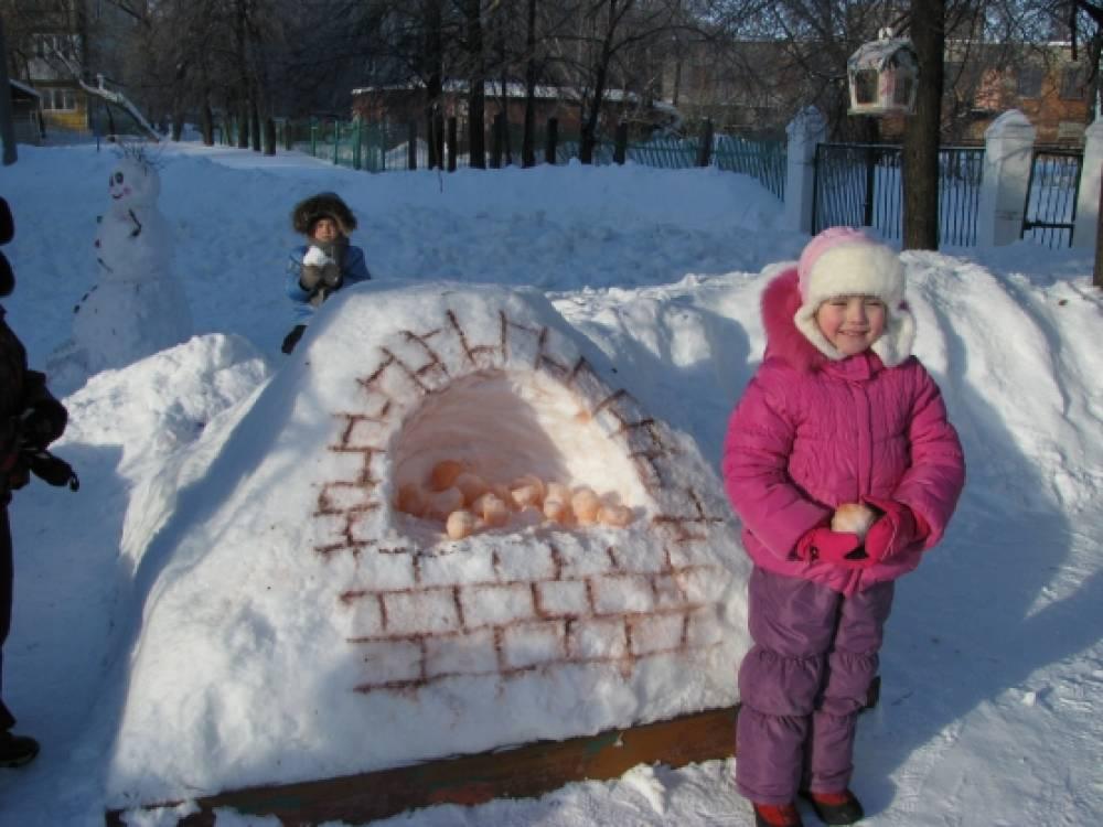 Для детей своими руками зимой 101