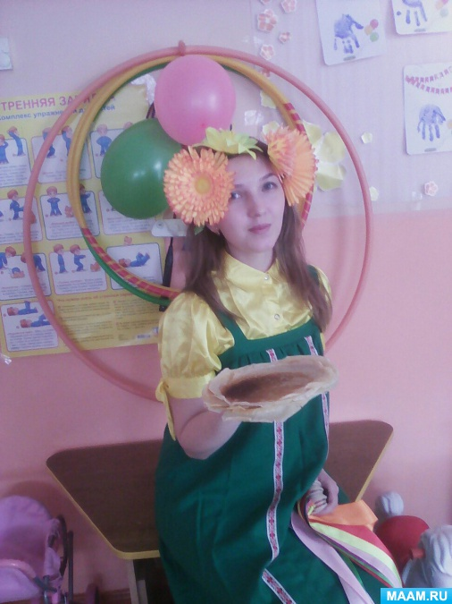 Сценарий развлечения для старших дошкольников «Масленичное гулянье»