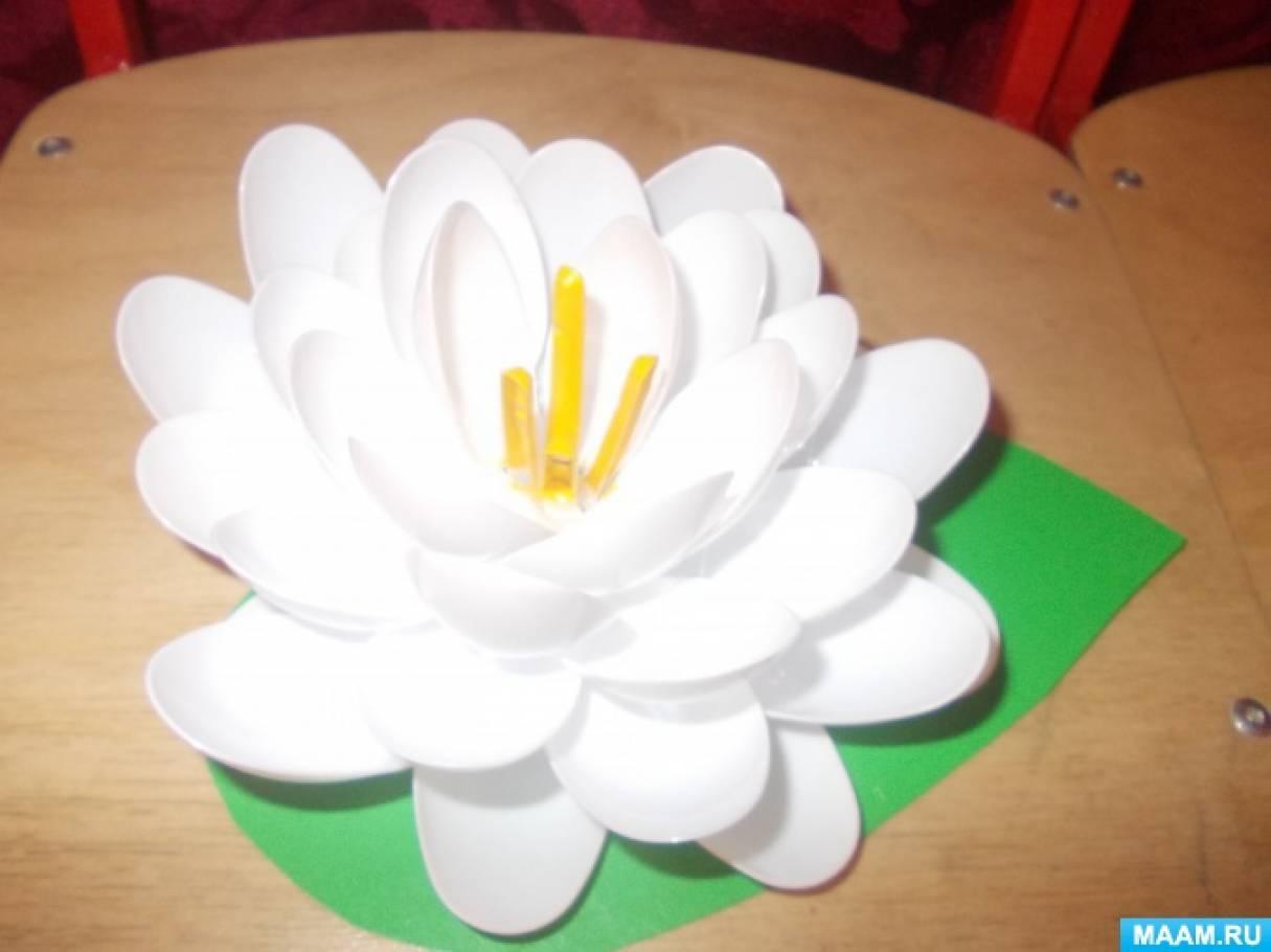 Поделки для сада из разовой посуды своими руками 67
