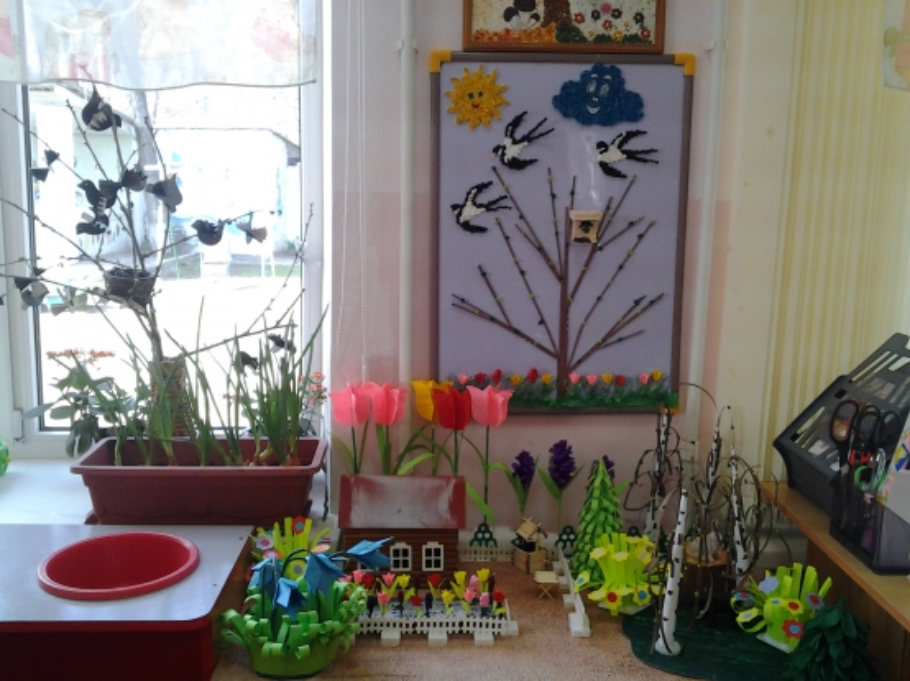 Картинки на детский уголок о весне