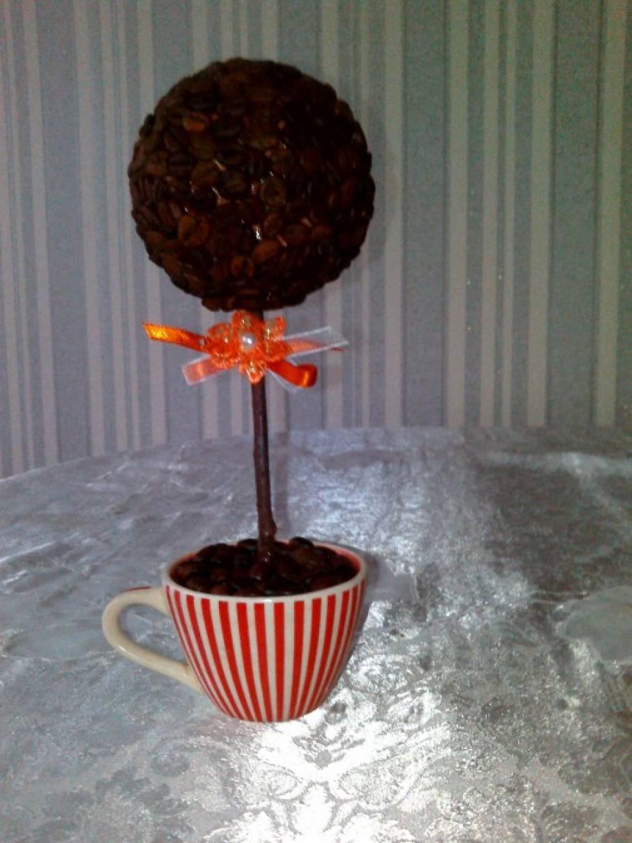 Мастер-класс «Топиарий из кофе»