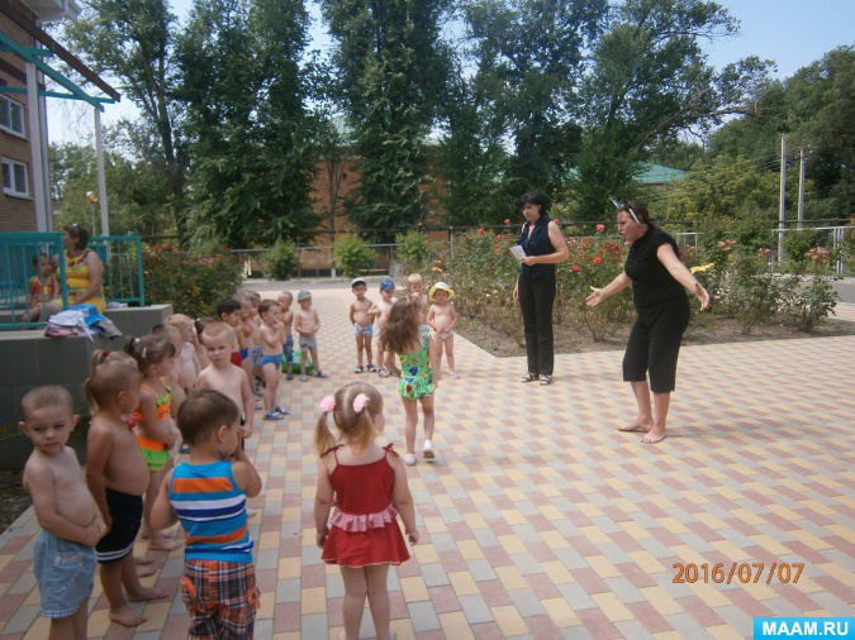 Сценарий праздника нептуна в детском саду на площадке