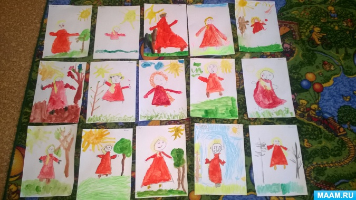 знакомство с творчеством васнецова в старшей группе