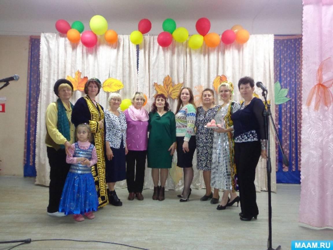 Мастер-класс для детей и родителей «Народные танцы и песни» в рамках проведения всероссийского «Вечера искусств»