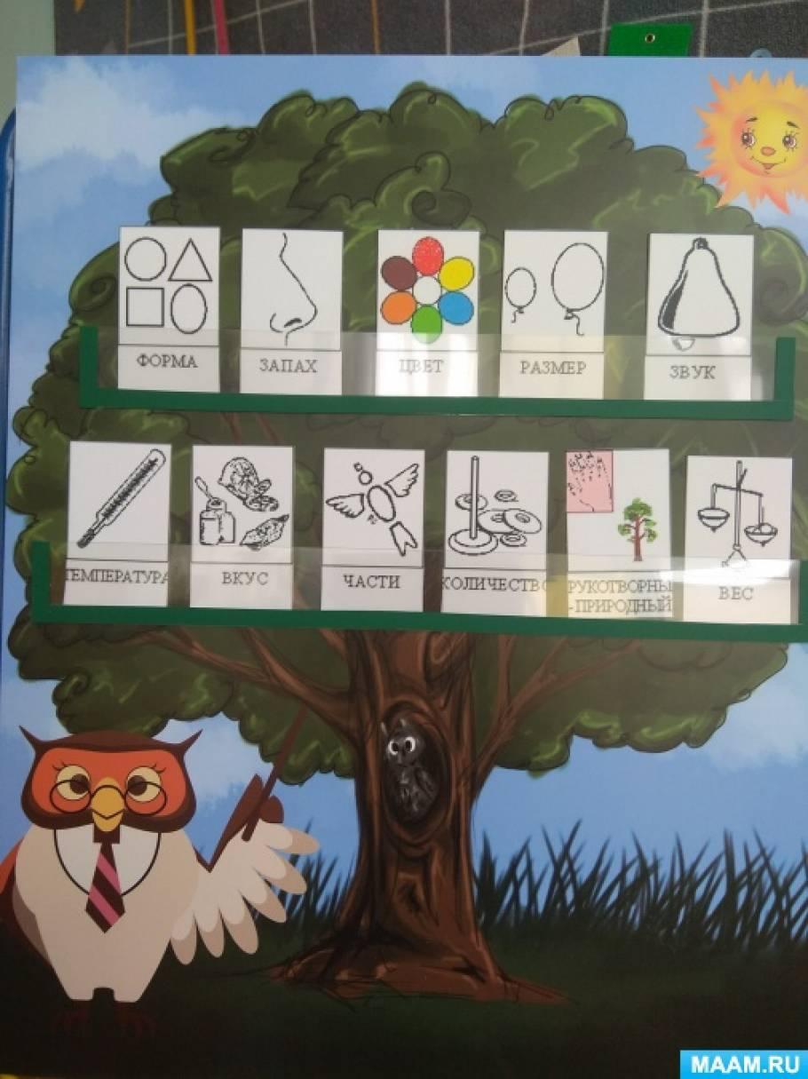 Дидактическое пособие по ТРИЗ «Дерево признаков»