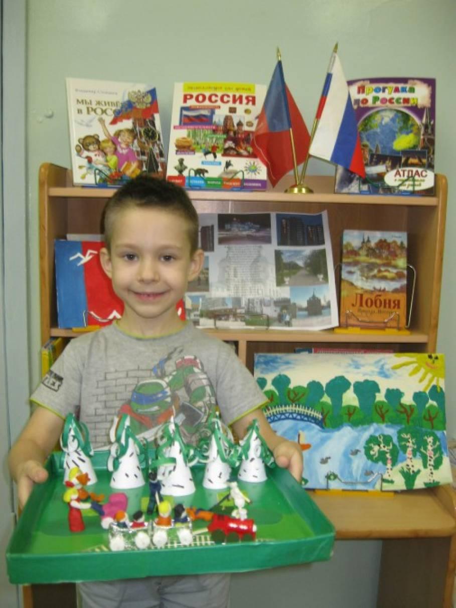 Поделки на тему моя родина россия 13