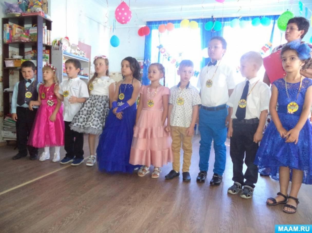 Отчет о проведении выпускного праздника «Наши дети лучше всех»