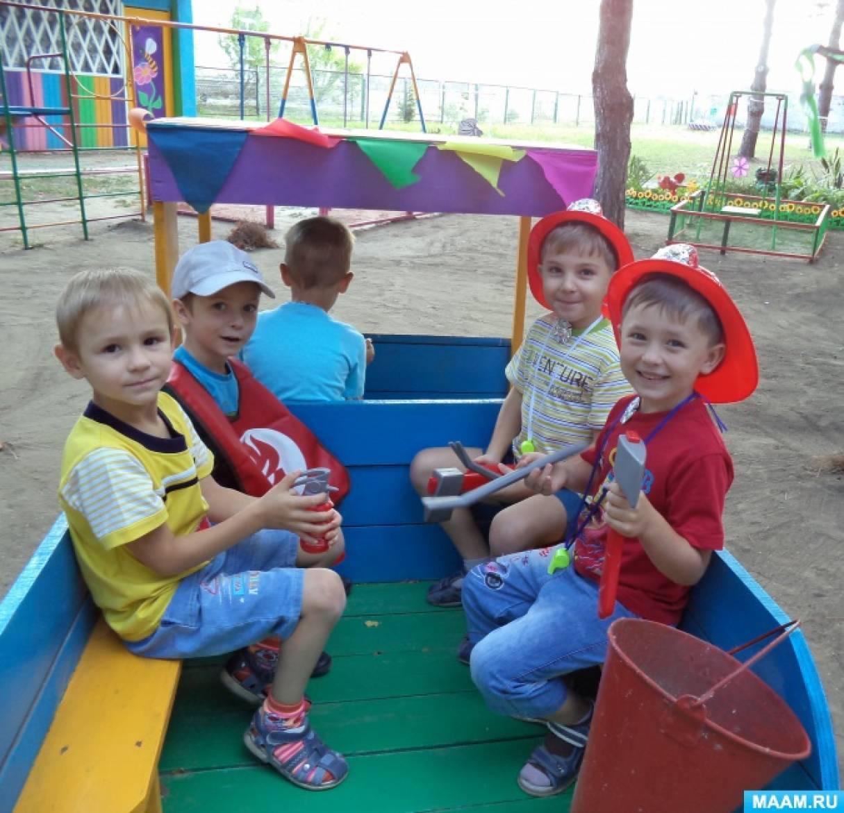 Фотоотчет о проведении Недели безопасности в детском саду