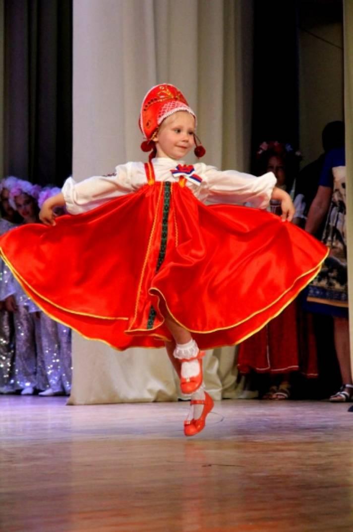 Детский кокошник русский народный