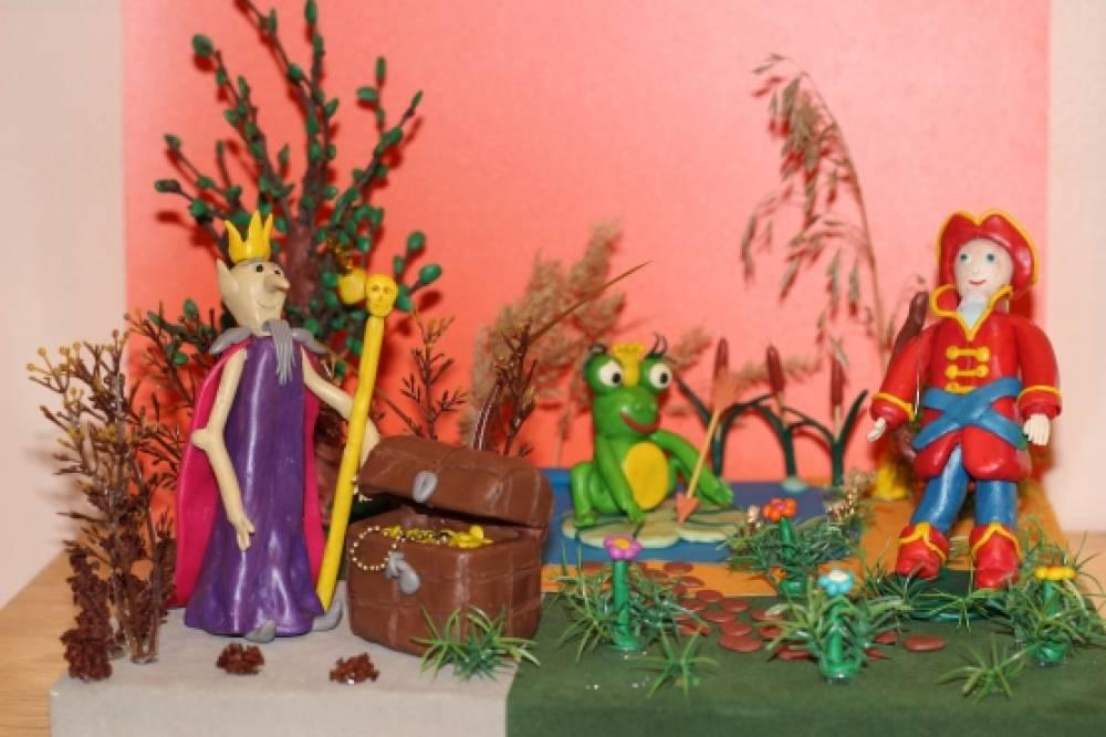 Поделки из природных материалов по мотивам народных сказок