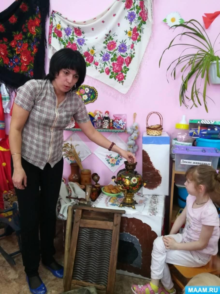 Проект «Русская изба» в рамках реализации «Народная культура и традиции. Дела давно минувших дней»