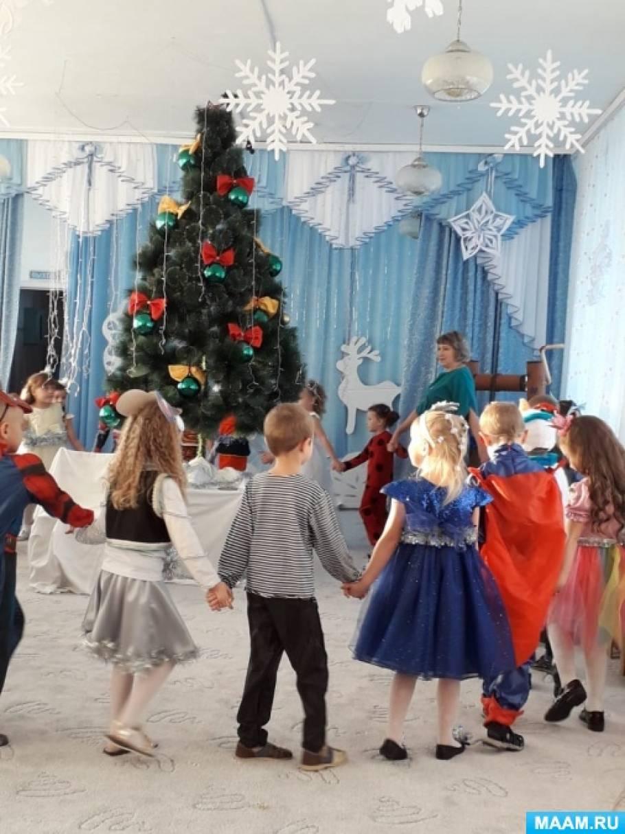 Сценарий новогоднего утренника в подготовительной группе «В гостях у сказки»
