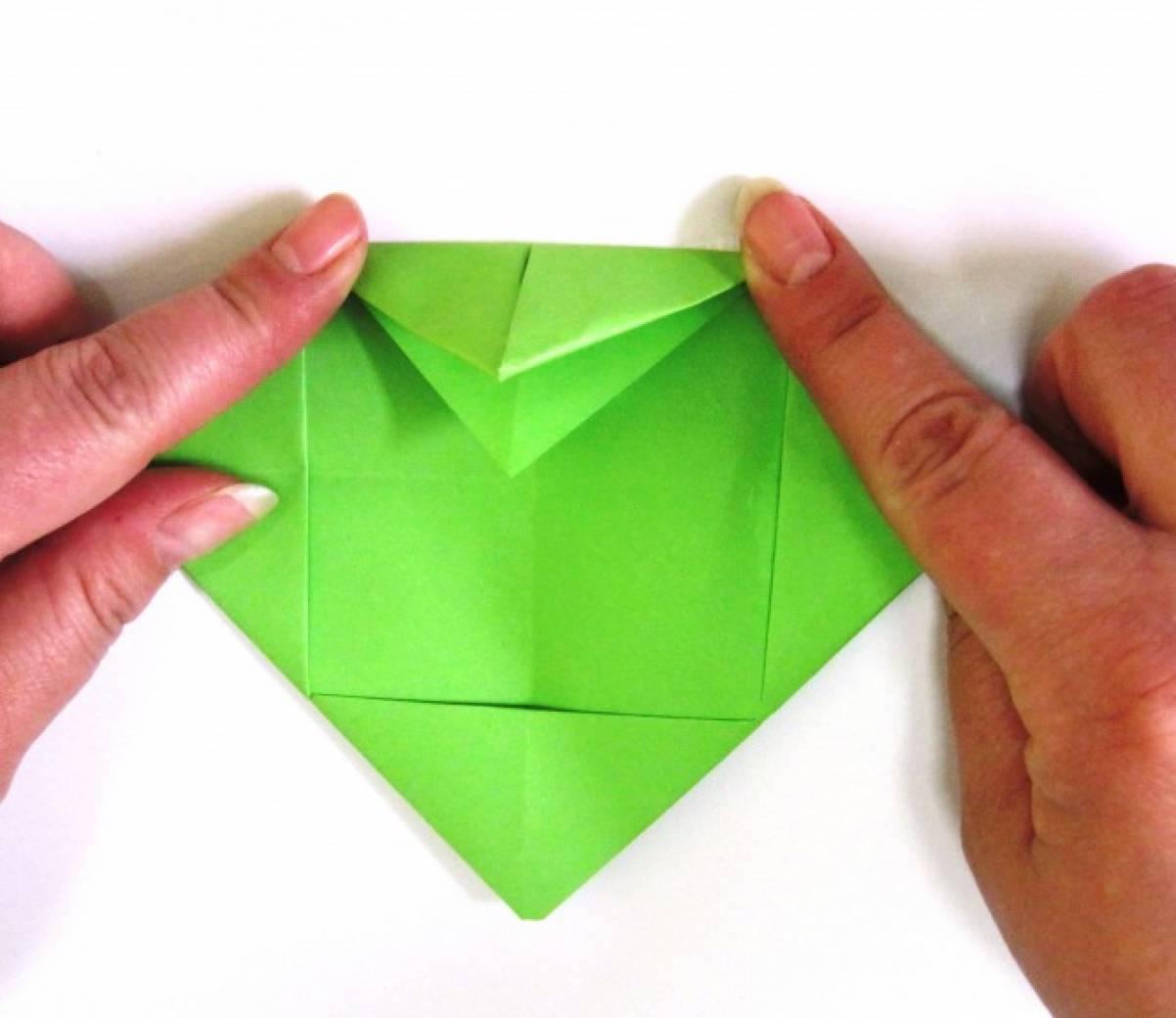 Как сделать лягушку из бумаги квакающая лягушка