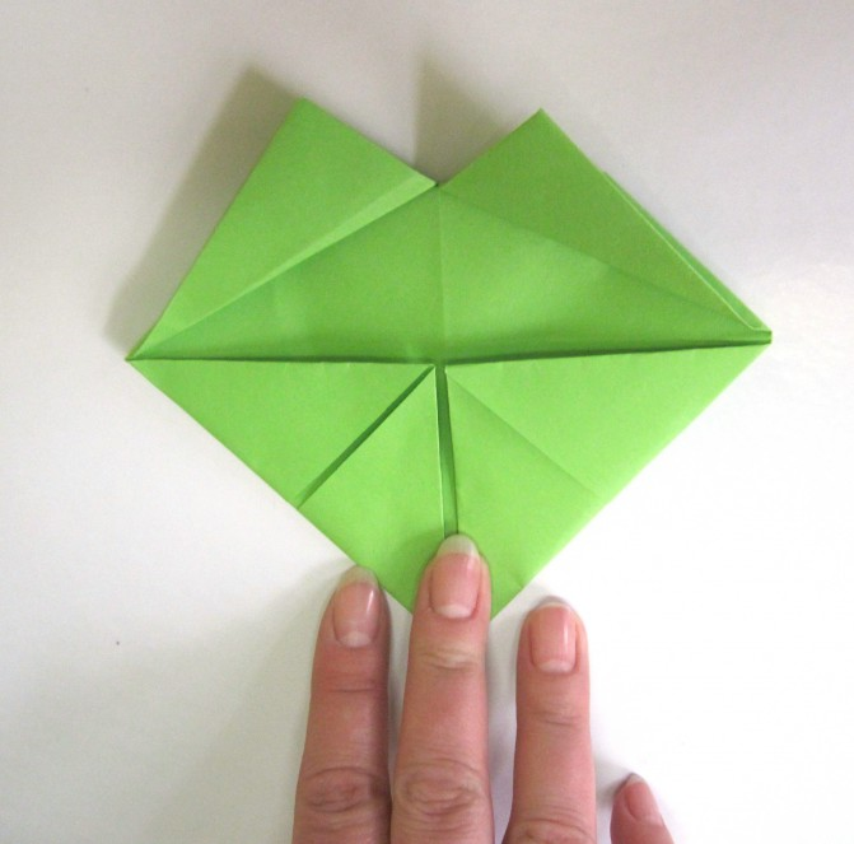 Оригами лягушка квакушка