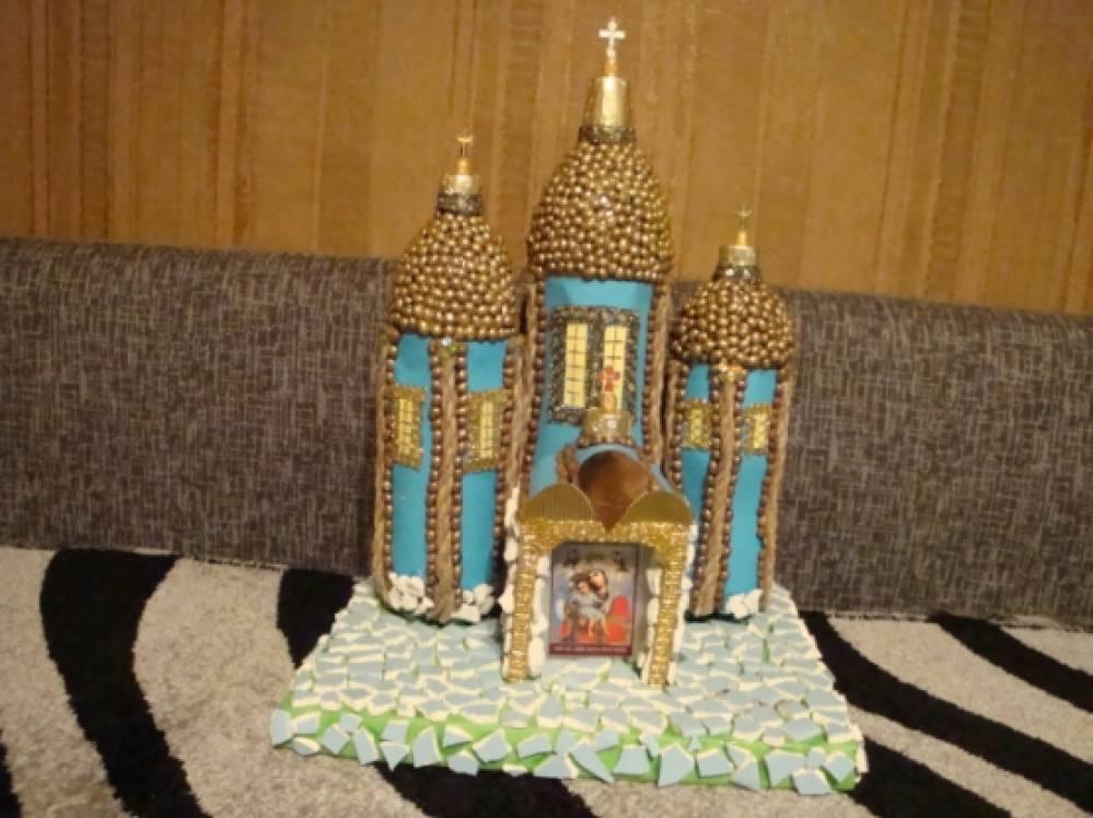 Мастер-класс: «Макет храма, для оформления уголка, по духовно-нравственному воспитанию».