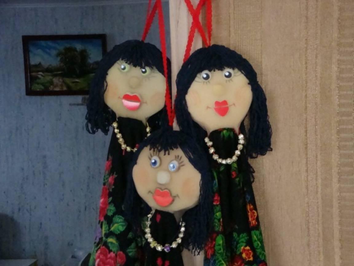 Платковые куклы своими руками мастер класс