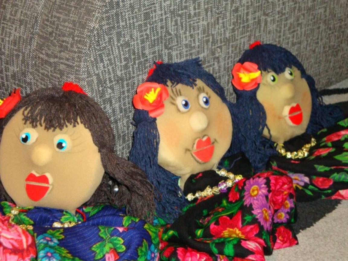 Платковая кукла своими руками мастер класс 308