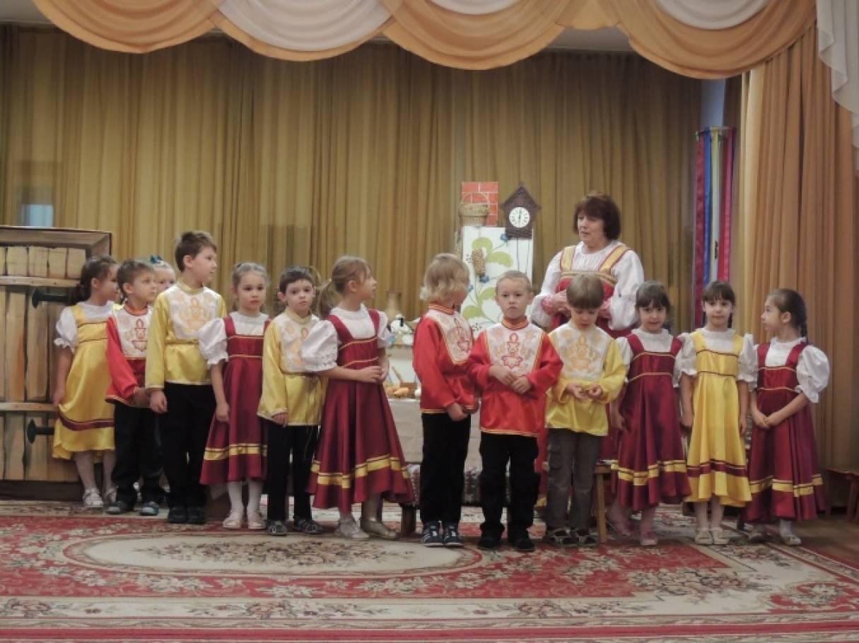 фольклорный праздник для детей знакомство с русской избой и предметами быта