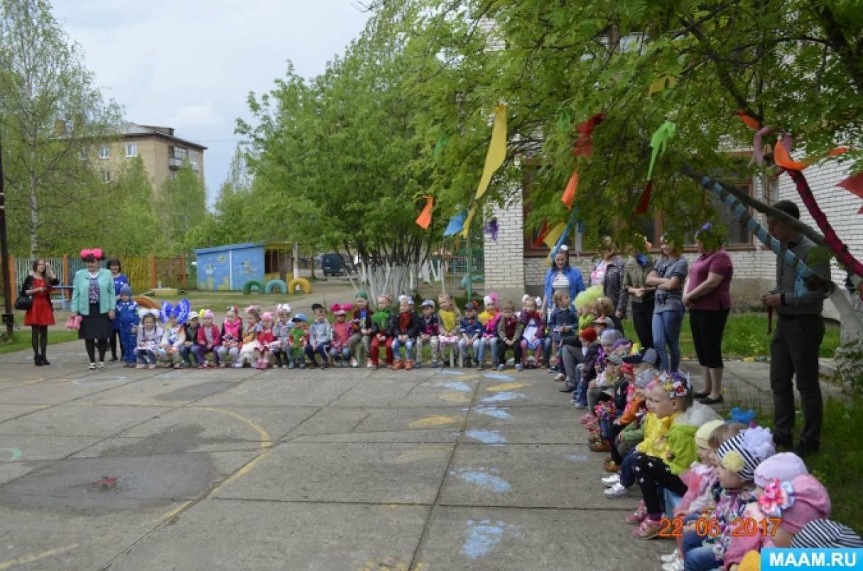 Развлечение в детском саду «День бантиков» для разновозрастных групп