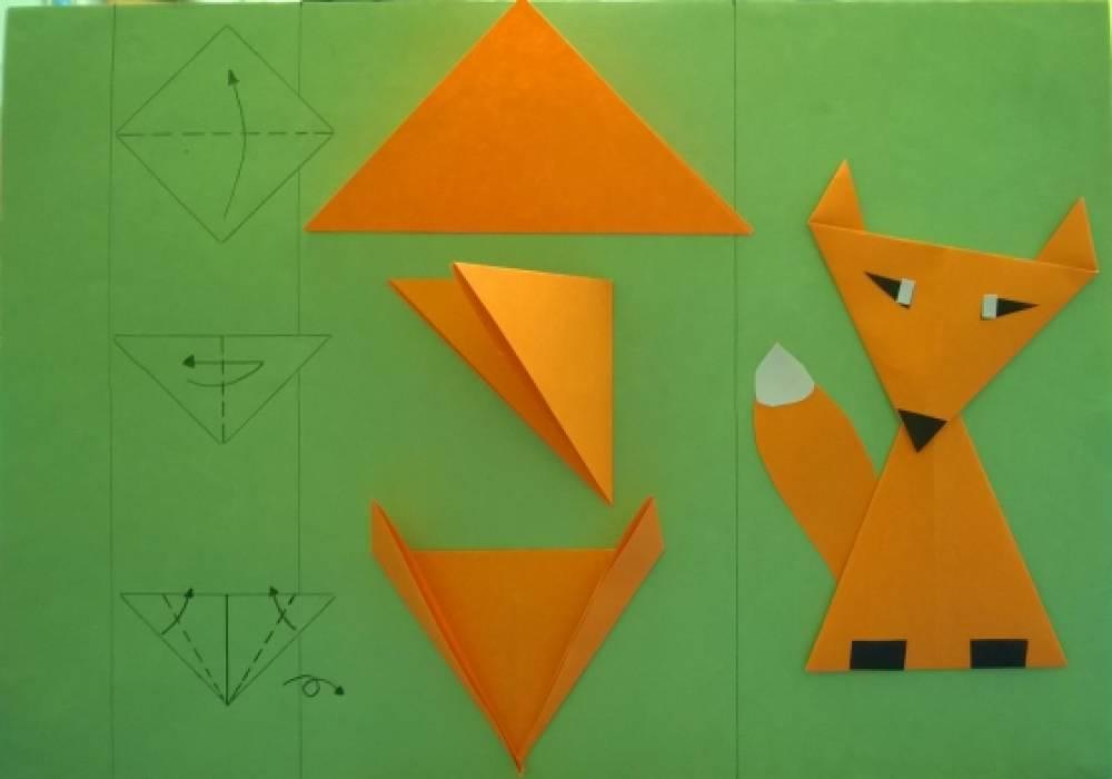 Оригами для детей старшей группы детского сада