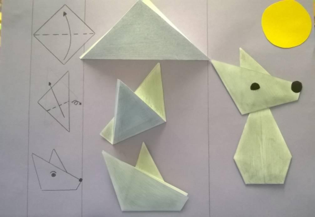 Конспект по оригами в детском саду оригами