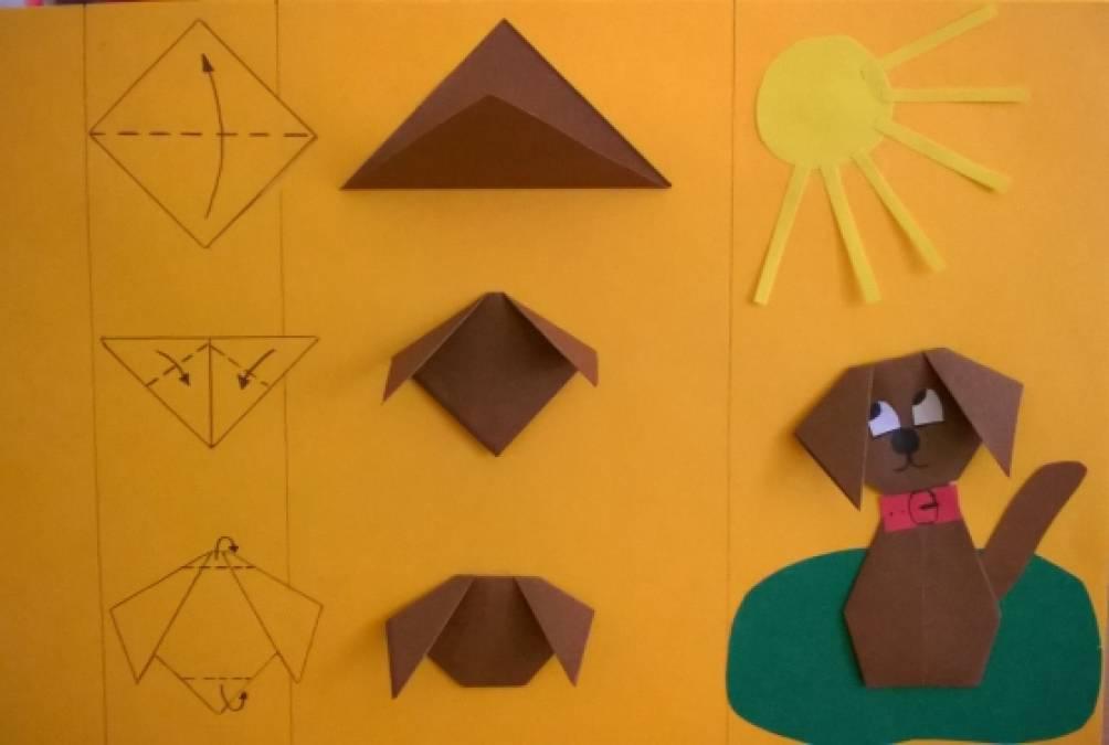 Средняя группа оригами