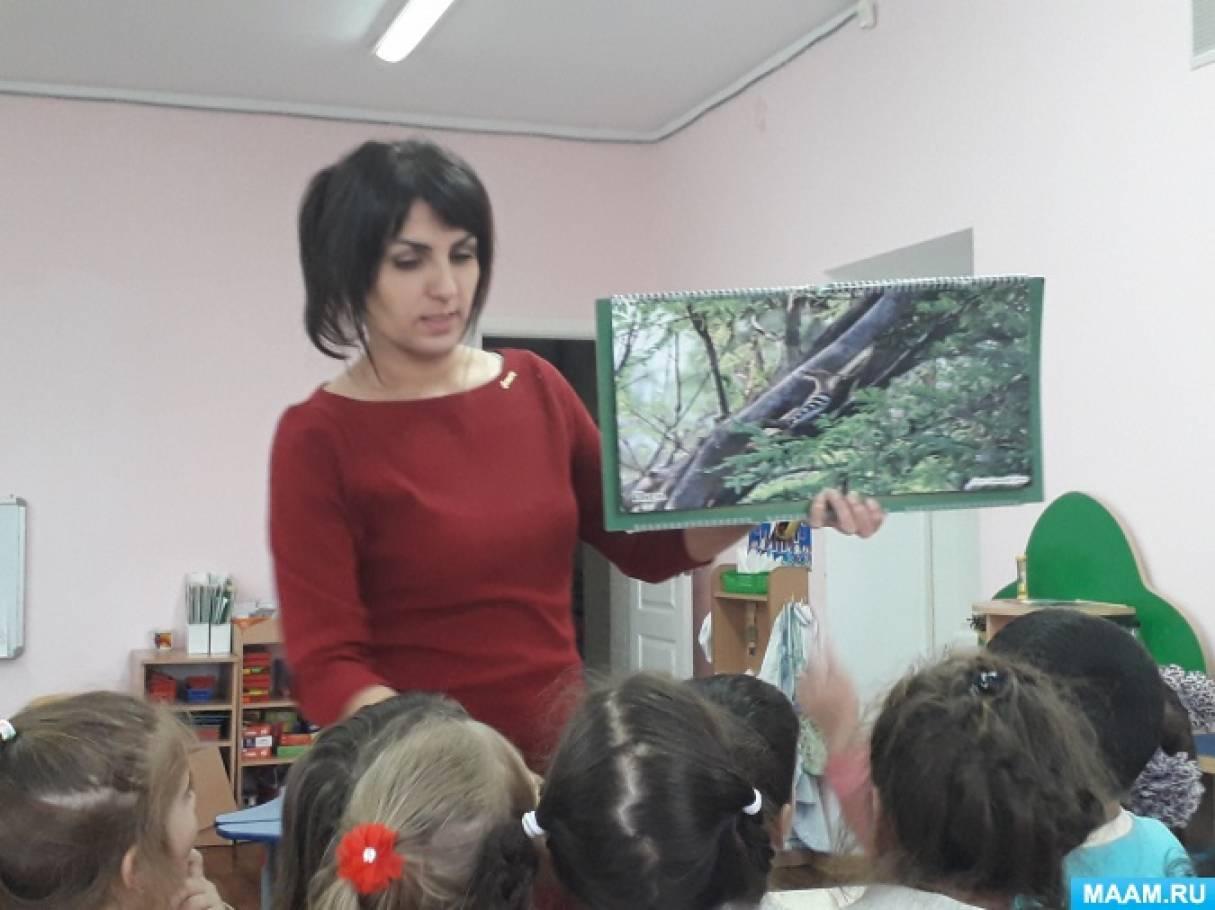 Экологический проект «В гости к Сойке» в рамках проведения конкурса «Прогулка по заповеднику Утриш»