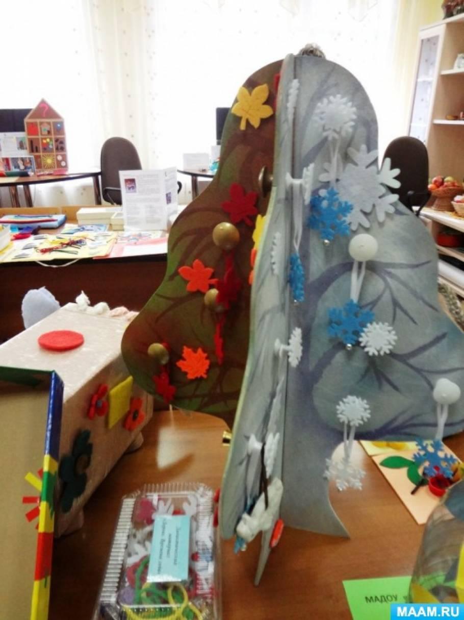 Городская выставка пособий для детей с нарушением сенсорных анализаторов