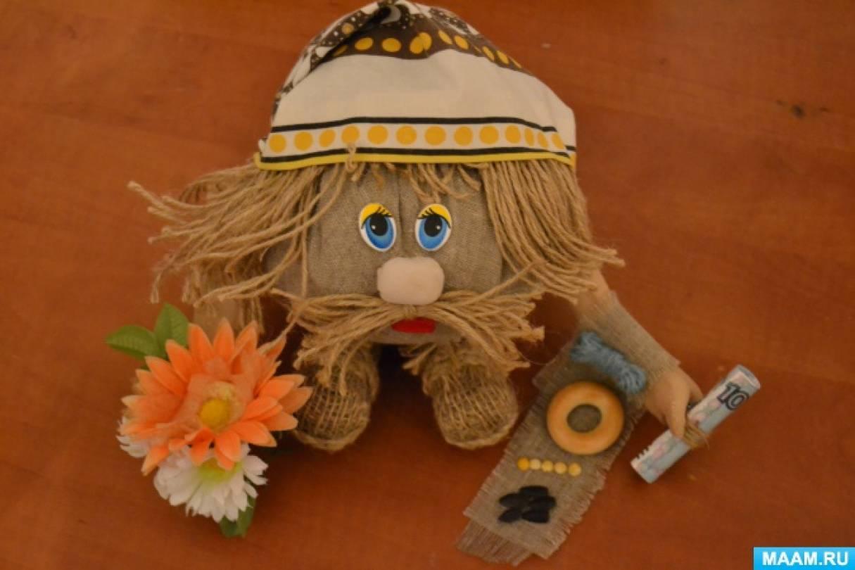 Мастер-класс для родителей с детьми по созданию куклы «Домовой» в рамках проекта «Русские народные традиции. Обереги»