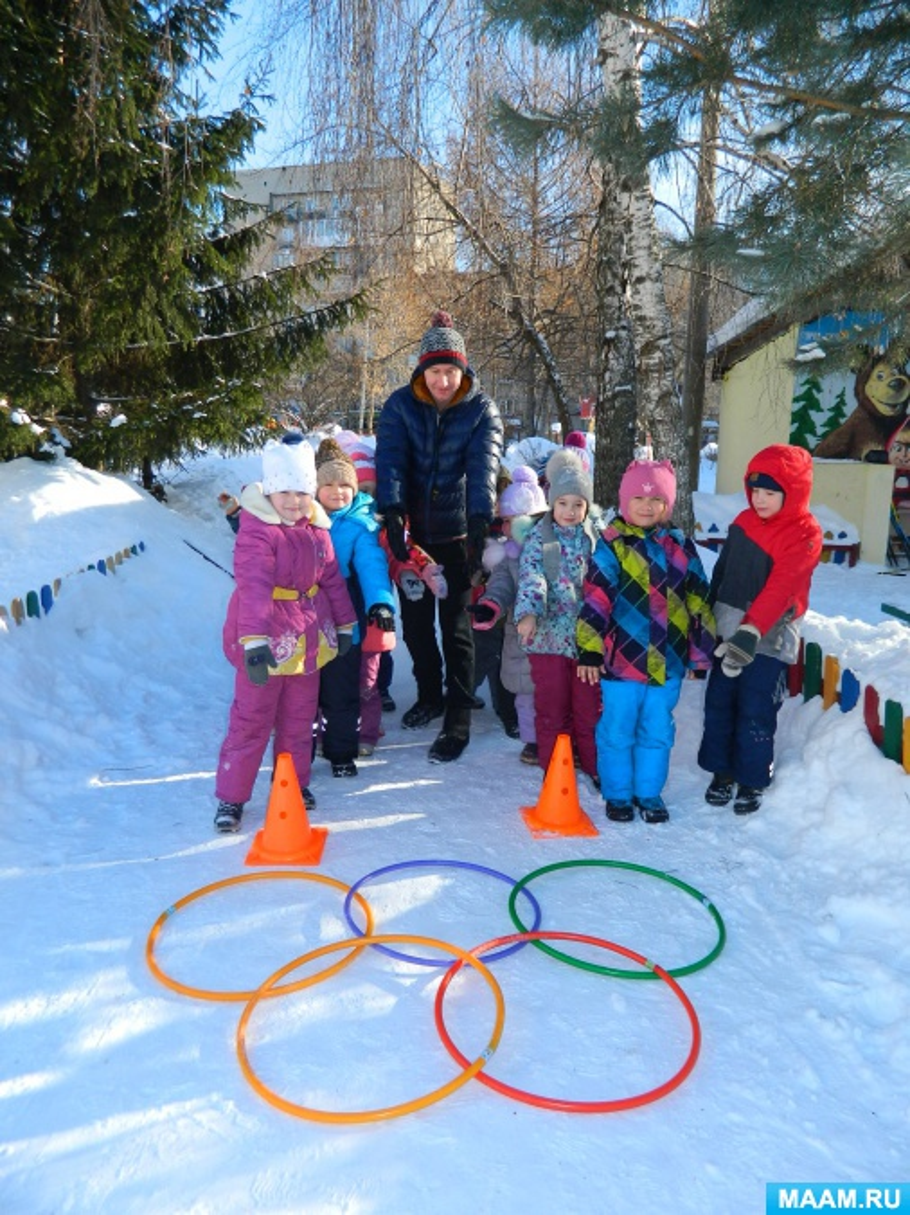 Сценарий спортивного праздника зимой