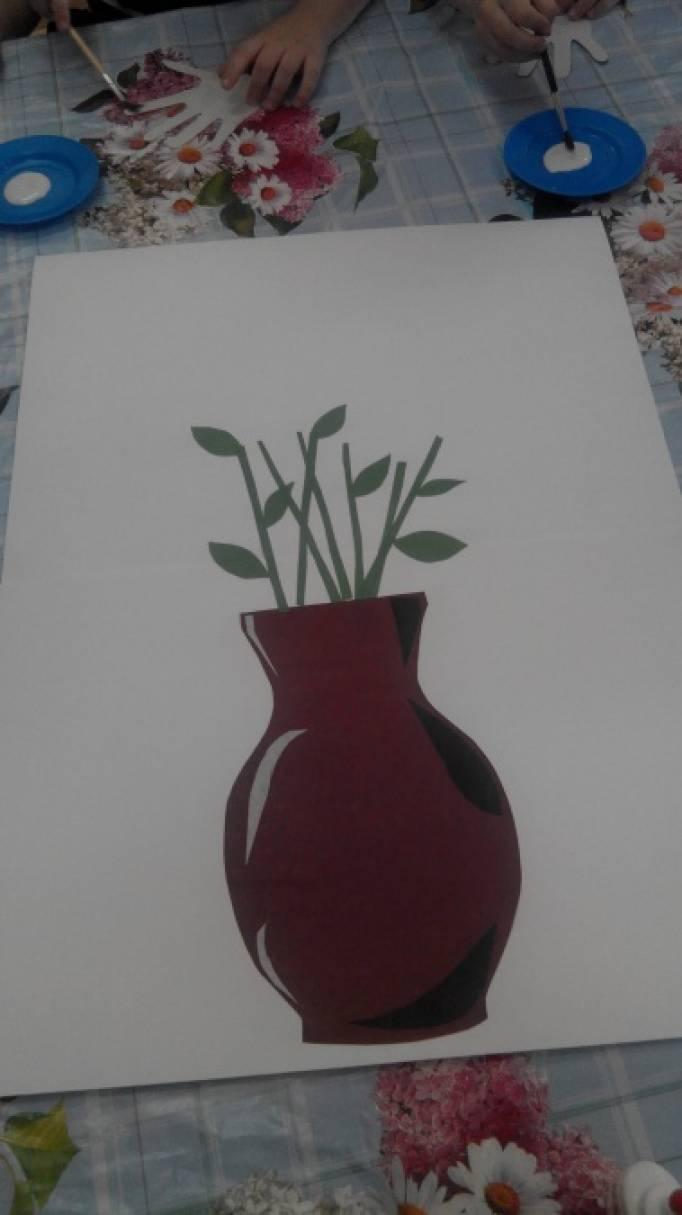 знакомство детей с работами в нетрадиционной технике рисования