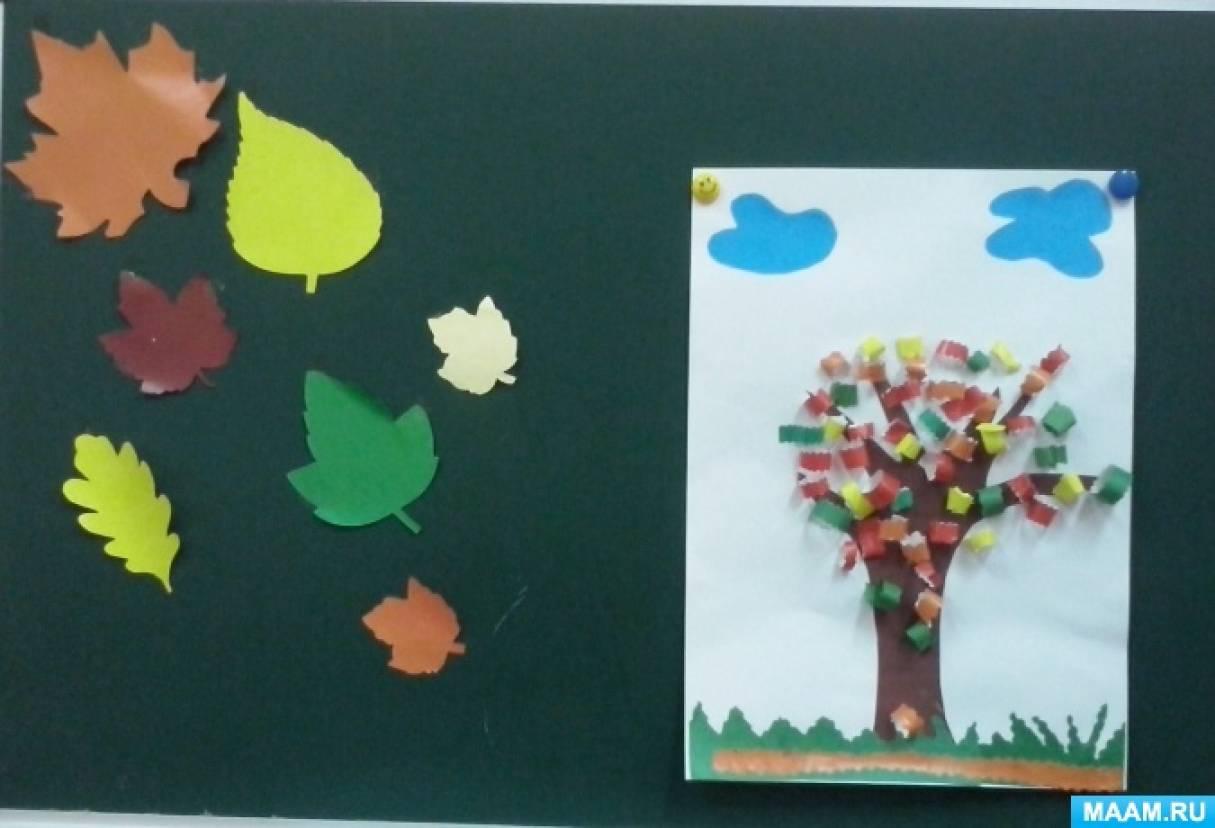 Коллективная работа «Осенне дерево»
