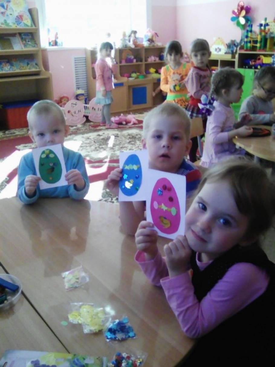 Пасхальные посиделки с малышами (фотоотчёт)