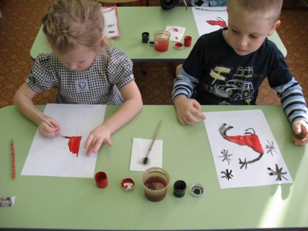 знакомство детей с книжными художниками