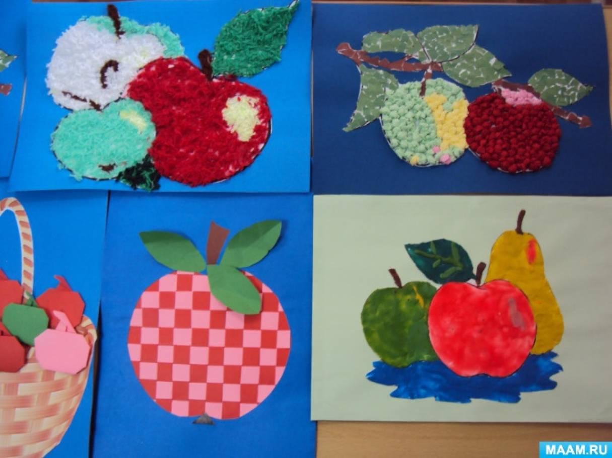 Яблочный спас поделка для детского сада 31