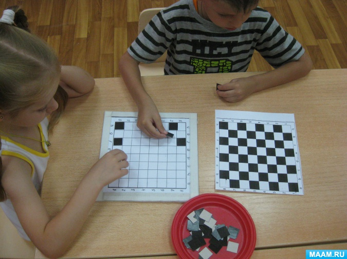 Шахматные поделки в садик