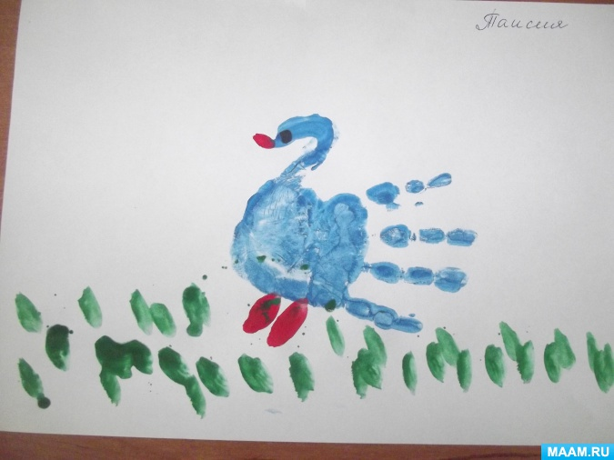 Из опыта работы «Нетрадиционные способы рисования для дошкольников» (фотоотчёт)