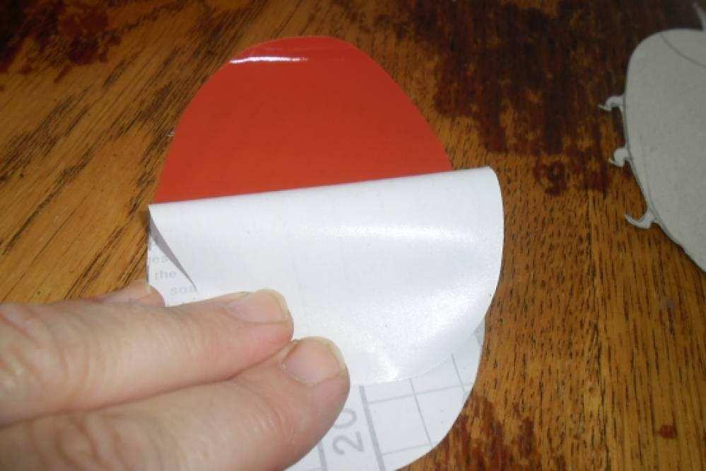 Поделки из клейкой бумаги