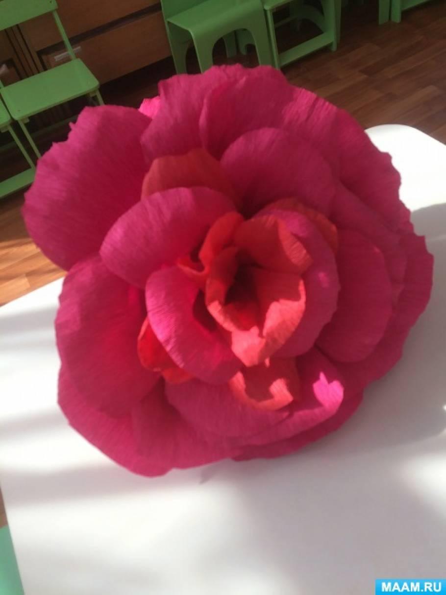 «Цветок». Декорация к танцу на 8 Марта