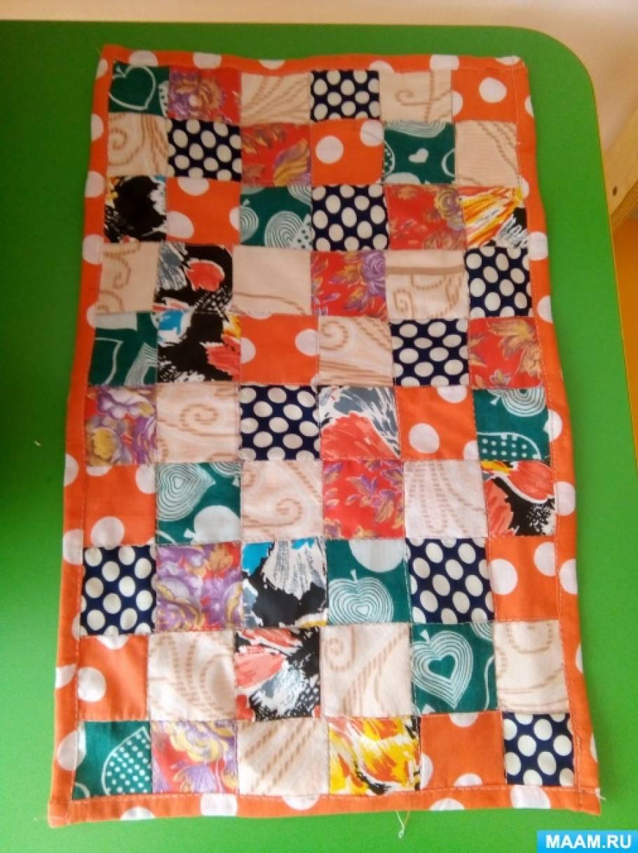 Лоскутные одеяла в уголок краеведения детского сада